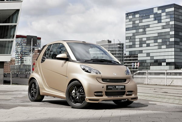 Smart ForTwo Cabrio Brabus: look firmato WeSC