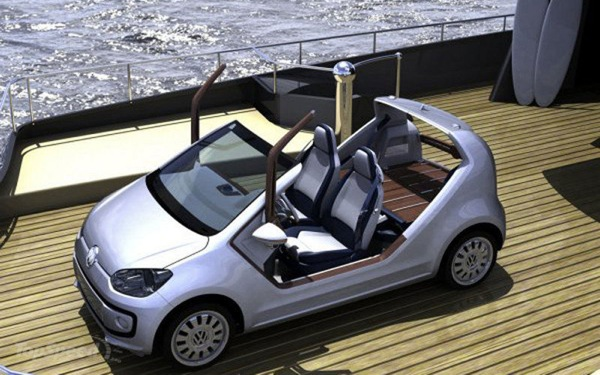 Volkswagen Up! Auto, Barca o entrambe? 1