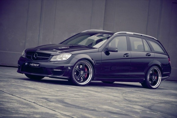 Mercedes C63 T AMG Supersport, 542 Cv e cerchi da 20 by Kicherer 9
