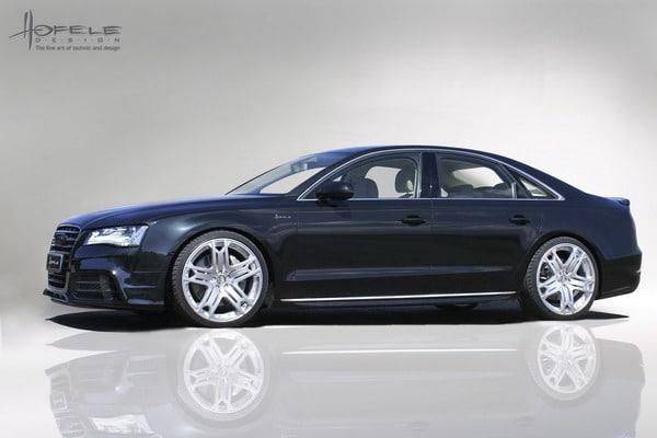 Cerchi in lega da 22 e Kit Sport per la nuova Audi SR8 Hofele Design 2