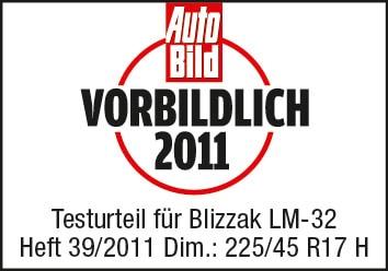 "Bridgestone Blizzak LM-32: pneumatici invernali ""Eccellenti"" per Auto Bild"