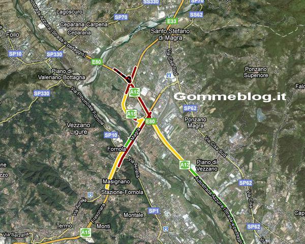 """Maltempo: Autostrada """"finisce"""" a La Spezia. Chiuse A12 e A15"""