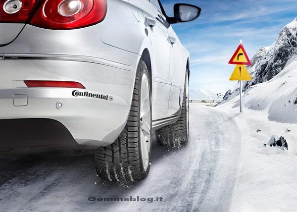 Pneumatici Invernali: Continental aumenta la produzione di gomme termiche