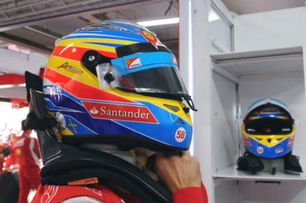 """F1, tributo a Marco Simoncelli: il """"58"""" nel cuore e sul proprio casco"""