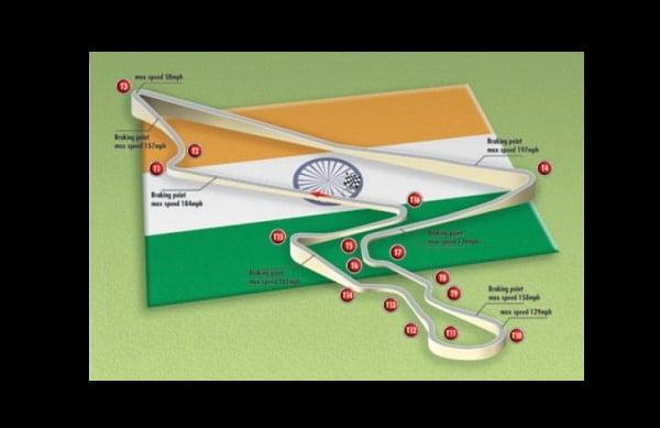 F1: il nuovo GP dell'India tra lutto e dolore