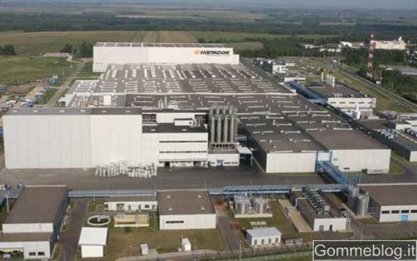 Hankook: completata la 2° fase di costruzione del proprio stabilimento europeo