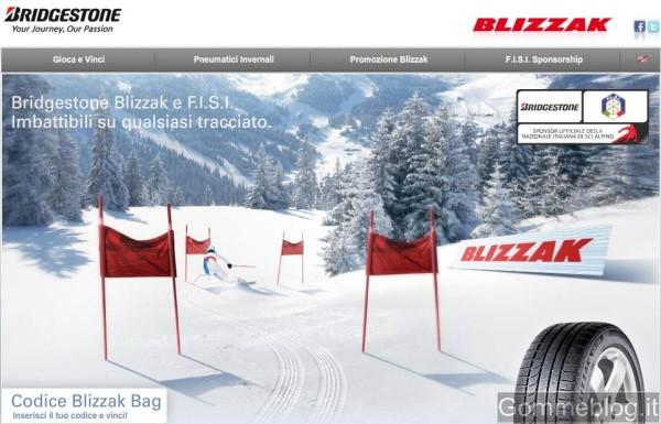 Vinci con Bridgestone ed i pneumatici invernali Blizzak: nuovo concorso online