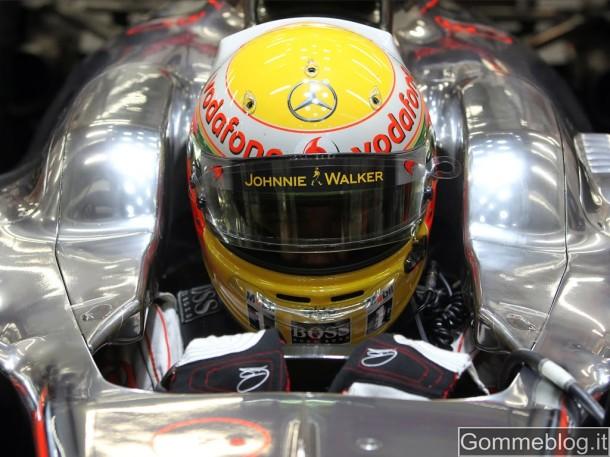 F1: Hamilton e Perez penalizzati di 3 posizioni