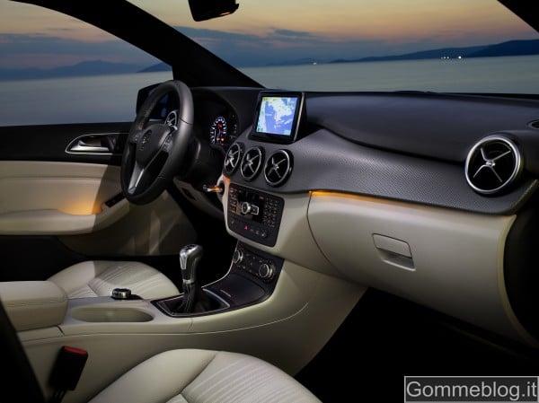 Nuova Mercedes Classe B 2012: REPORT COMPLETO su Tecnica e Prestazioni 6