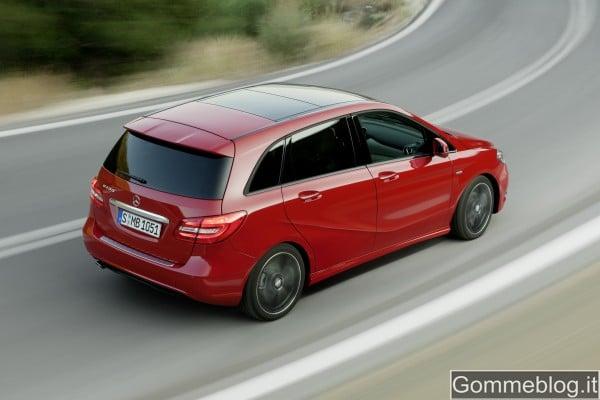 Nuova Mercedes Classe B 2012: REPORT COMPLETO su Tecnica e Prestazioni 3