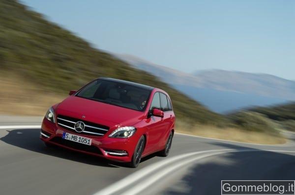 Nuova Mercedes Classe B: promossa dal TUV come auto ecocompatibile a 360°
