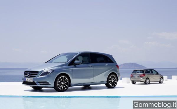 Nuova Mercedes Classe B: promossa dal TUV come auto ecocompatibile a 360° 2