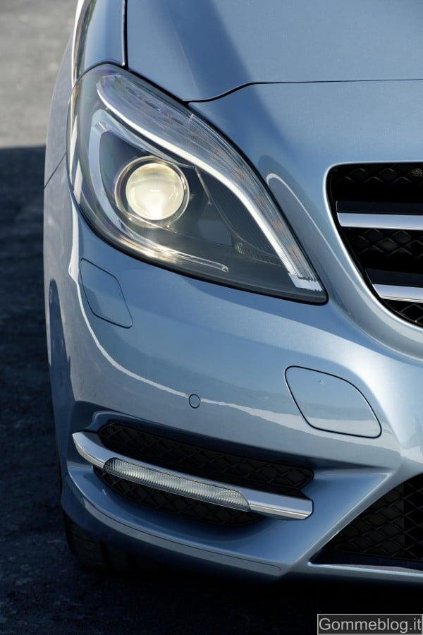 Mercedes Classe B Elettrica e Metano al Motor Show di Bologna