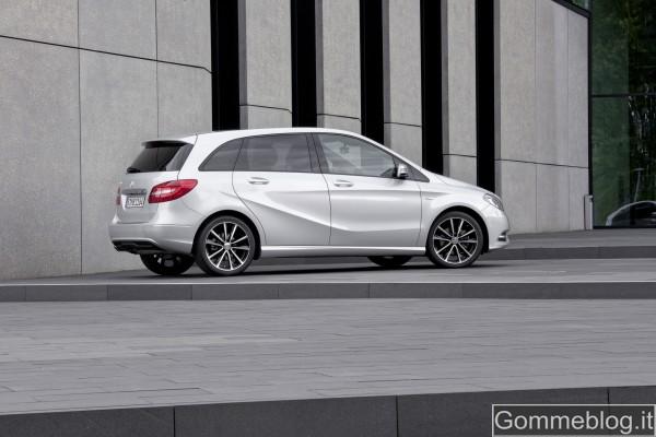 Nuova Mercedes Classe B 2012: REPORT COMPLETO su Tecnica e Prestazioni 5