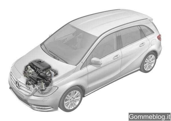 Nuova Mercedes Classe B 2012: REPORT COMPLETO su Tecnica e Prestazioni 12
