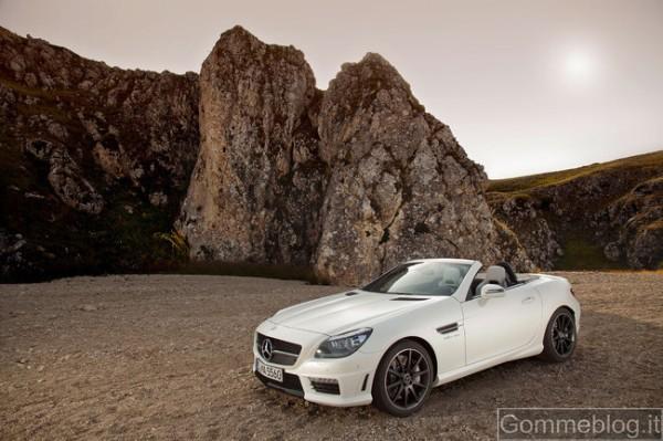 Mercedes SLK 55 AMG: report completo su tecnica e performance 4