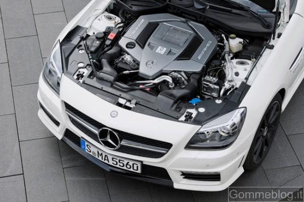 Mercedes SLK 55 AMG: report completo su tecnica e performance