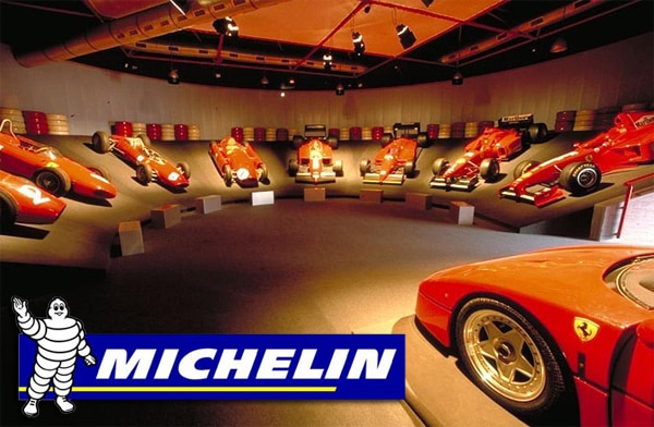 Michelin e Museo Ferrari: passione e performance si uniscono