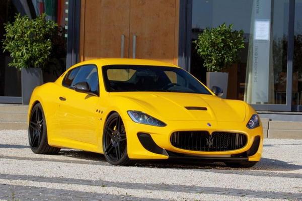 Novitec Tridente Maserati Gran Turismo MC Stradale: col compressore arriva a 646 CV