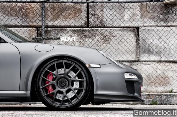 SEMA Show 2011: pneumatici Pirelli per la Porsche 997 GT3 RS ADV.1 Wheels