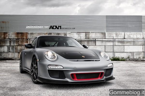 SEMA Show 2011: pneumatici Pirelli per la Porsche 997 GT3 RS ADV.1 Wheels 2