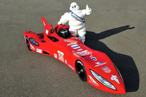 Michelin porta la futuristica Project 56 Deltawing alla 24 Ore di Le Mans 2012