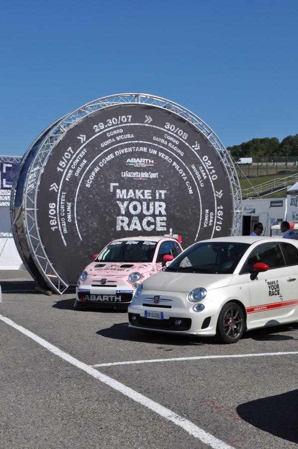 Gommeblog.it ospite di Abarth al Mugello per il Trofeo Abarth 500
