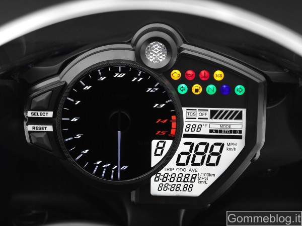 Yamaha YZF-R1 2012: report completo su tecnica e performance 7