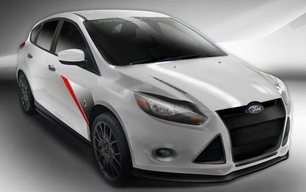SEMA Show 2011: Ford Focus Tuning Roush Performance 1