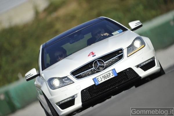 Mercedes C63 AMG Coupé: report completo su tecnica e performance