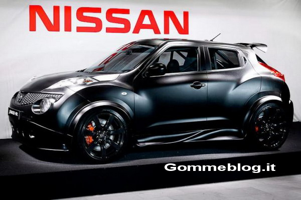 Nissan Juke-R: la prima foto ufficiale