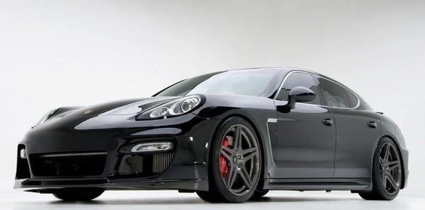 Porsche Panamera Turbo, cerchi da 21 per l'ultimo Tuning Vorsteiner