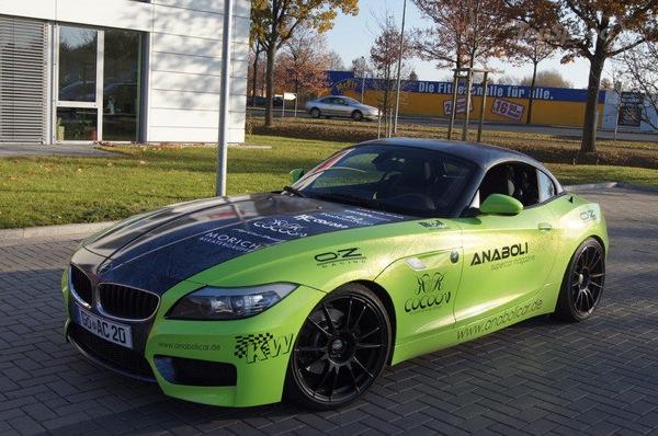 BMW Z4 By Anabolicar Magazine, cerchi OZ Racing per gestire 265 CV