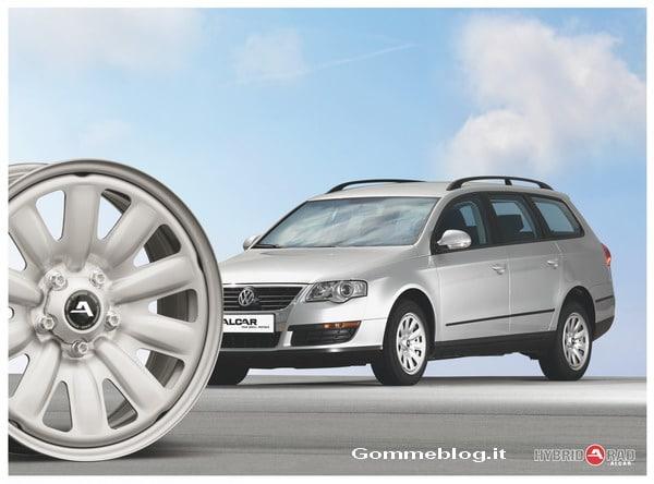 """Cerchi in acciaio e pneumatici invernali: Alcar propone """"Hybridrad"""""""