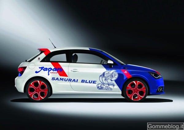 Audi A1 Samurai Blue, pezzo unico per i campioni di Zac 2