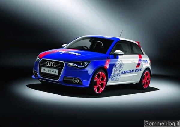 Audi A1 Samurai Blue, pezzo unico per i campioni di Zac