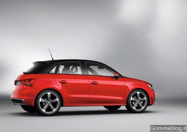 Audi A1 Sportback: la presentazione al Motor Show di Bologna sarà live su Facebook