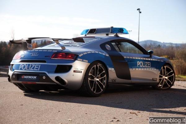 Audi R8 Polizei: una supercar by ABT da cui non si scappa ! 2