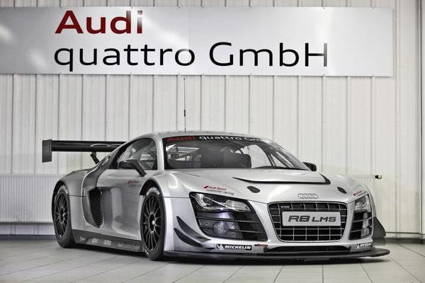 Le Mans Series: gomme Michelin per la nuova Audi R8 LMS 4