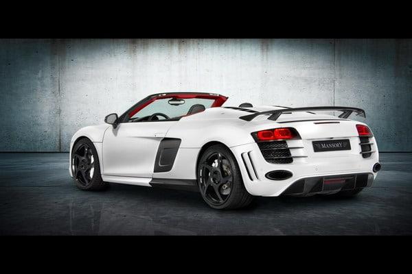 Audi R8 Spyder Mansory: Michelin Pilot Sport PS2 per tenere a bada 552 CV 2