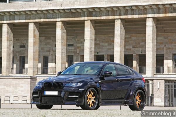 """BMW X6 Tuning: CLP monta cerchi in lega da 23"""" con canale da 12.5J"""