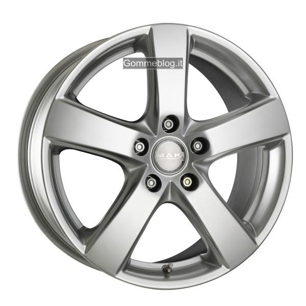 Cerchi in lega MAK WEB: pensati per pneumatici e gomme invernali
