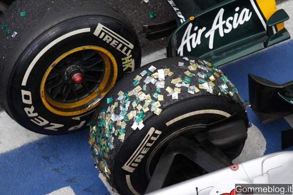 Pirelli: nel 2012 tutte le gomme slick, eccetto le supersoft, saranno completamente nuove