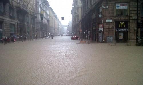Alluvione Genova. Autostrade: non mettetevi in viaggio verso la Liguria
