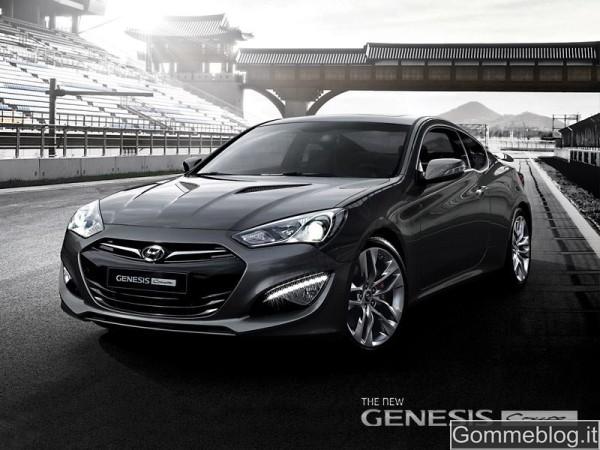Hyundai Genesis Coupé: con il restyling vola a 279 e 355 CV