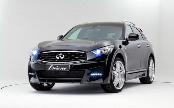 Infiniti FX Tuning Lorinser: cerchi in lega SUV da 22 e look sport