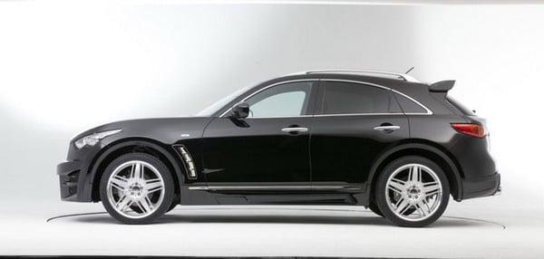 Infiniti FX Tuning Lorinser: cerchi in lega SUV da 22 e look sport 2