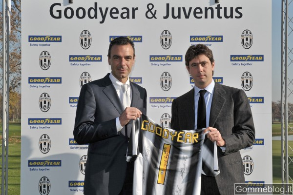 Goodyear è nuovo sponsor Juventus Football Club