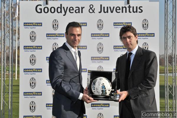 Juve vince lo Scudetto. Juventus Campione d'Italia con Goodyear