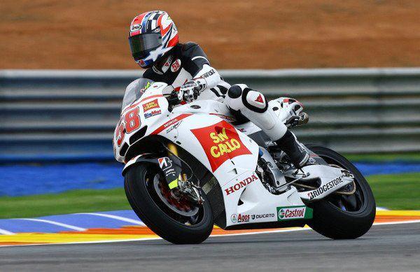 Marco Simoncelli Tributo: Valencia Saluta il Nostro Campione. Schwantz sulla moto 58 2